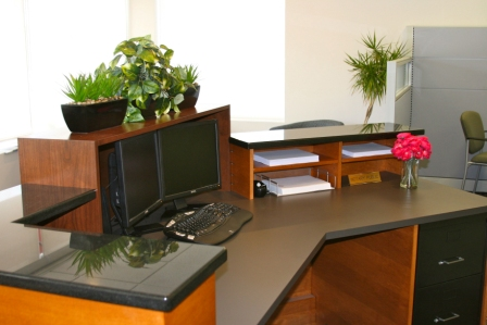 Designing A Custom Reception Desk Langton Designs Anne