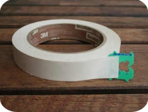 bread tag as tape starter