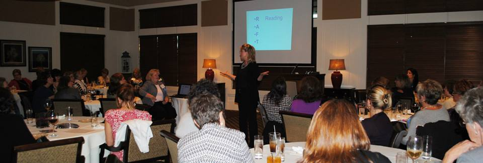 Langton Designs-Speaking at Women's Link